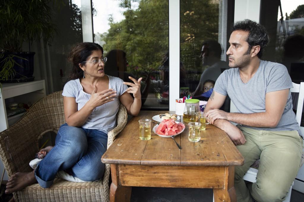 Şukriye Dogan unterstütze den 35jährige Musiker Ahmed Qafour in Deutschland Fuss zu fassen.